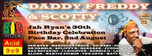 Daddy Freddy, Scotty, Mandidextrous, Spliffy B